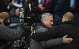 Pep Guardiola và Mourinho tay bắt mặt mừng một cách khó tin ở Etihad