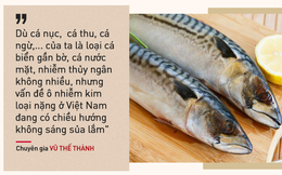 Chuyên gia Vũ Thế Thành: Kiêng hẳn cá biển thì uổng, bà bầu tối đa chỉ nên ăn 2 bữa 1 tuần