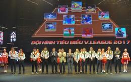 Phi Sơn, Văn Quyết, Công Phượng không có mặt trong ĐHTB V.League 2017