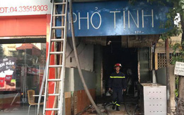 Hà Nội: Quán phở cháy lớn lúc sáng sớm, chủ nhà không biết