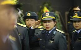 Nghẹn ngào lễ tang Thiếu tá phi công Nguyễn Thành Trung hy sinh khi làm nhiệm vụ