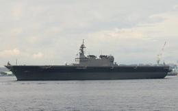 Nhật Bản dùng tàu Kaga chặn đứng tham vọng của Trung Quốc