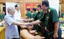 Tổng Bí thư, Chủ tịch Nước, Thủ tướng dự hội nghị triển khai nhiệm vụ quân sự, quốc phòng