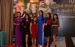 Hoa hậu Thủy Tiên trình diễn trang phục của các Nhà thiết kế học việc