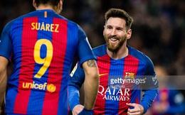 """Messi """"chết đi sống lại"""" trong ngày hủy diệt của Barca"""