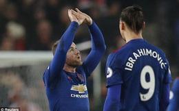 """Rooney tỏa sáng trong ngày Man United tuyệt vọng vì """"người hùng"""" Juan Mata"""