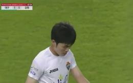 Trong ngày vui của Xuân Trường, Gangwon thoát hòa nhờ... thay cầu thủ HAGL rời sân