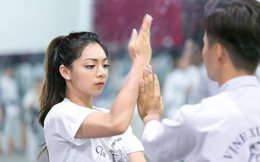 Con gái Chưởng môn Vịnh Xuân Nam Anh lên tiếng chuyện về dạy võ tại Việt Nam