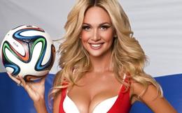"""Cựu hoa hậu Nga """"bảo kê"""" cho fan Anh tới xứ Bạch dương dự World Cup"""