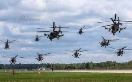 """Trầm trồ trước đội trực thăng Nga, Trung Quốc tiện thể khoe mình... """"chẳng hề kém cạnh"""""""