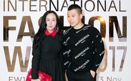 Khắc Tiệp sánh bước Phượng Chanel, nổi bật tại Tuần lễ thời trang quốc tế Việt Nam