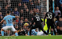 Vòng 15 Premier League: Man City 2-1 West Ham