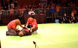 Bi hài: Võ sĩ Malaysia bị đánh ngất xỉu vẫn được xử thắng, giành HCV