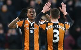 Premier League vòng 21: Hull City 3-1 Bournemouth