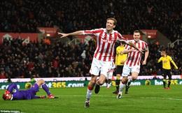 Clip bản quyền Premier League: Stoke City 2-0 Watford