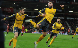 Clip bản quyền Premier League: Bournemouth 3-3 Arsenal