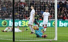 Premier League vòng 21: Swansea 0-4 Arsenal