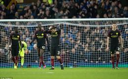 Premier League vòng 21: Everton 4-0 Man City