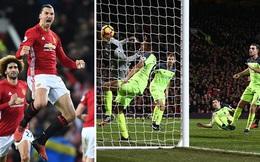 """CLIP: Bằng chứng Man United được trọng tài """"tặng"""" bàn thắng trước Liverpool"""