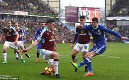 Premier League vòng 25: Burnley 1-1 Chelsea