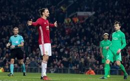 Không Ibrahimovic, thì còn ai vào đây nữa hả Mourinho?