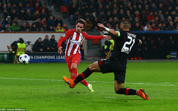 "Chicharito ""tịt ngòi"", Leverkusen thua đau trước Atletico Madrid"