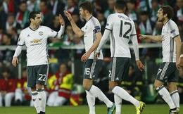 Man United thắng dễ trên đất Pháp, Mourinho vẫn