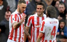 Premier League vòng 27: Stoke 2-0 Middlesbrough