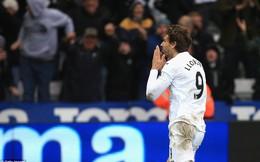 Premier League vòng 27: Swansea 3-2 Burnley