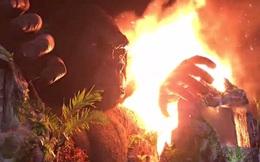 Báo nước ngoài đưa tin về vụ cháy sân khấu họp báo Kong ở Việt Nam