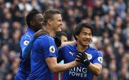 Vòng 29 Premier League: West Ham 2-3 Leicester City