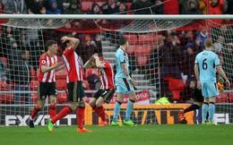 Vòng 29 Premier League: Sunderland 0-0 Burnley