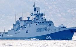 Chiến hạm Nga tiến vào vùng biển tàu Mỹ phóng tên lửa tấn công căn cứ Syria
