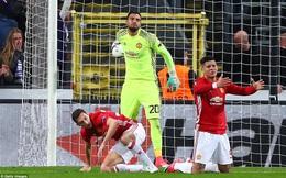 """Liên tục """"bắn trượt"""", Man United hụt bước khó tin trên đất khách"""