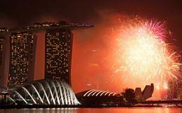 Pháo hoa rực sáng trên bầu trời các nước châu Á trong đêm giao thừa