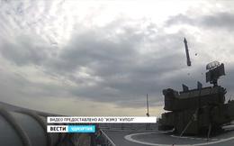 Nga thử nghiệm hệ thống phòng không Tor-M2KM trên tàu chiến