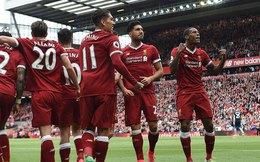 Vòng 38 Premier League: Liverpool 3-0 Middlesbrough