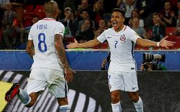 """Không đủ """"10 thành công lực"""", Sanchez vẫn giúp Chile giành trọn 3 điểm"""
