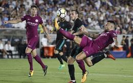 Man City đè bẹp Real Madrid trong