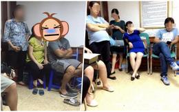 Chị em dậy sóng vì cảnh các ông chồng chiếm ghế ngồi bấm điện thoại, bà bầu đứng la liệt trong phòng khám thai