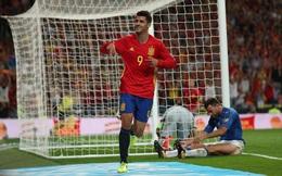 """Sergio Ramos """"dọn cỗ"""", Morata ấn định màn quật ngã ngoạn mục chuỗi bất bại của Italia"""