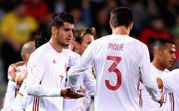 Tây Ban Nha thắng đậm đà, tràn trề cơ hội đoạt vé đến World Cup 2018