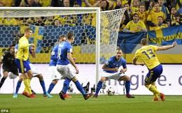 """Thi đấu """"vô hồn"""", Italia gục ngã, có nguy cơ lớn vắng mặt tại World Cup"""