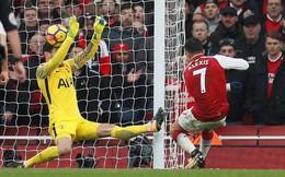 Vòng 12 Premier League: Arsenal 2-0 Tottenham