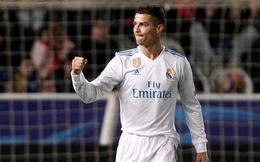"""Ronaldo lập cú đúp, Real Madrid thắng ngoạn mục """"6 sao"""""""
