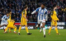Vòng 16 Premier League: Huddersfield Town 2-0 Brighton