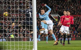 Vòng 16 Premier League: Man United 1-2 Man City