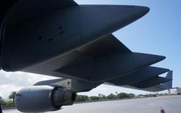 Siêu vận tải C-17 phục vụ chuyến thăm Việt Nam của các tổng thống Mỹ