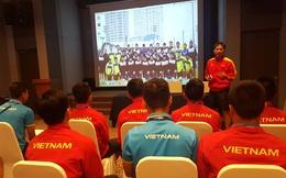 """HLV Hoàng Anh Tuấn """"phát lệnh"""" cho U20 Việt Nam bung sức trước U20 Pháp"""