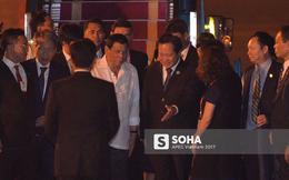 Tổng thống Philippines Rodrigo Duterte đã tới Đà Nẵng, bắt đầu tham dự Tuần lễ Cấp cao APEC